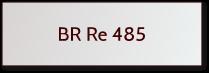 Fleischmann BR Re 485