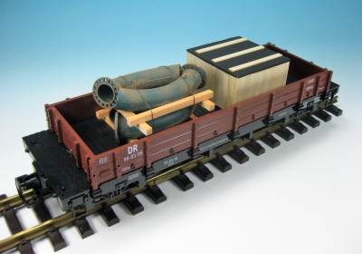 DUHA 16328 - Rohre und Kiste (Spur G)