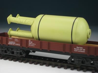 DUHA 11443 - Kessel mit 4 Stützen (Spur H0)