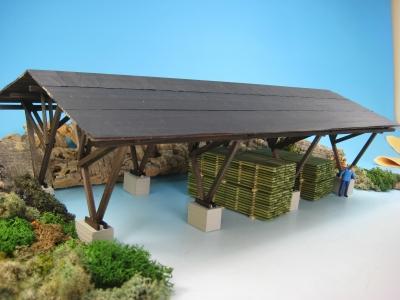 DUHA 28160 - Überdachung / Lagerplatz (Spur 0)