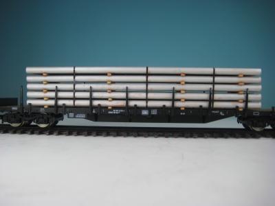 DUHA 11545 - Silberne Rohre (Spur H0)