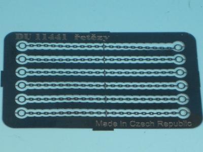 DUHA 11441 - 6 Sicherungsketten für Ladegut (Spur H0)
