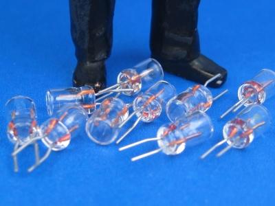Steckglühbirnchen klar, 5 V (10 Stück)