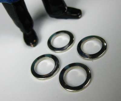 LGB original Ersatzteil - 4 Beilagscheiben Ø 9 mm