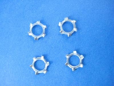 LGB original Ersatzteile - 4 gezahnte Beilagscheiben für Loks