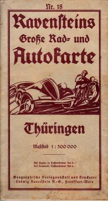 Ravensteins Große Rad- und Autokarte