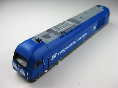 Lokgehäuse 726001 mit Führerstand und Lichtleiter