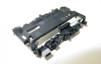 Drehgestellrahmen schwarz für Lok 7260 06