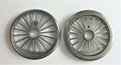 Fleischmann Original-Ersatzteil - 2 Räder für Dampflok Ø 20,0 mm (57)