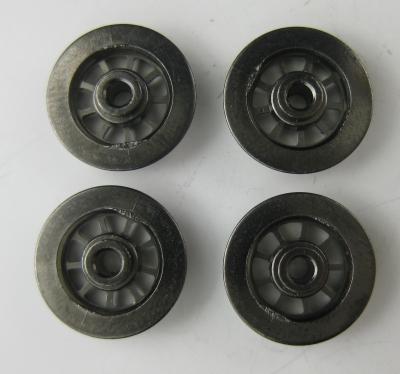 Fleischmann Original-Ersatzteil - 4 Räder für Dampflok Ø 10 mm (65)