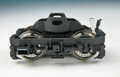 Fleischmann Original-Ersatzteil - Drehgestellblock komplett für Lok 7386, schwarz