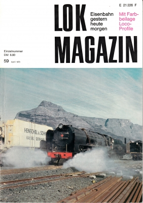 Lok Magazin Nr. 59, April 1973