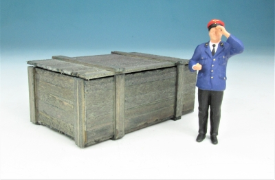DUHA 18586 A - Kiste, Holzkiste, Transportkiste gealtert