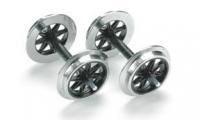 LGB 67320 - Metall Doppelspeichenradsatz