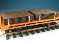 DUHA 16221 - 2 Stapel mit gealterten Blechplatten (Spur G)