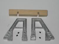 82200 B - Handarbeitsmodell Prellbock mit Holzbohle