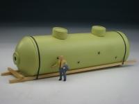 DUHA 11445 - Großer Kessel auf Holzgestell (Spur H0)