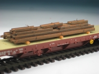DUHA 11422 - Gealterte I-Stahlprofile (Spur H0)
