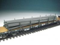 11413 A - Rundeisen schwarz, gebündelt, 142 mm lang