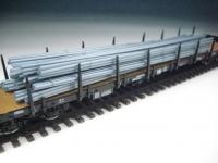 11413 B - Rundeisen metallic-blau, gebündelt, 142 mm lang