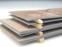 DUHA 11220 - Metallplatten, gealtert (Spur H0)