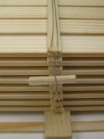 11320 - Bretterstapel mit einfacher Befestigung (Echtholz)