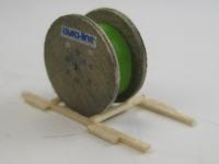 DUHA 14306 - Kabeltrommel mit grünem Kabel (Spur Z)