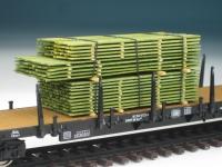 DUHA 11275 - Bretterstapel grün (Spur H0)