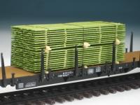 DUHA 11276 - Grüner Bretterstapel (Spur H0)