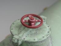 Ladegut 11351 - 2 Kessel grün auf Holzladegestell