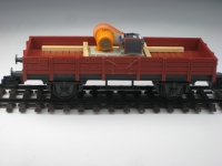 DUHA 11332 - Benzin Generator auf Holzgestell (Spur H0)