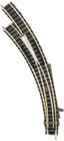 Fleischmann 9168 - Bogenweiche für Handbetrieb, links