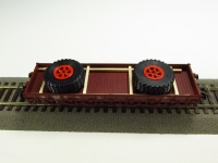 DUHA 11549 - 2 große Räder auf Holzgestell
