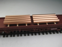 DUHA 11538 - 2 Stapel Kupferstangen (Spur H0)