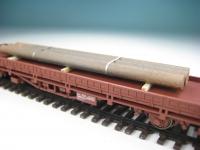 DUHA 11424 B - gealterte Eisenprofile auf Holzträgern