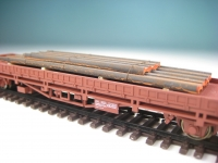DUHA 11425 B - I-Profile aus gealtertem Stahl