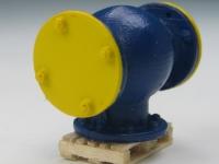 DUHA 11233 - Ventil auf Palette und Schieber auf Palette