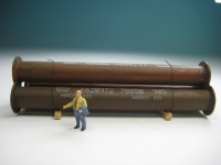 DUHA 11406 - Rohre mit Flansch