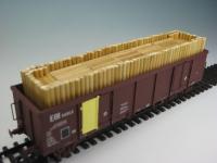 DUHA 11110 - Geschälte Holzstämme (Spur H0)