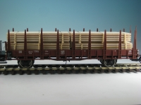 DUHA 18271 A - 4 Bretterstapel
