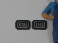 85840 B - 2 unbemalte Lokschilder