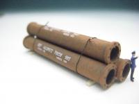 DUHA 14406 - 3 rostige Rohre
