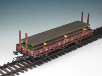 DUHA 11424 A - Stapel gealterter Eisenstangen (Spur H0)