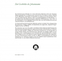 Broschüre Ausstellung, Verkehrsmuseum Dresden 1972