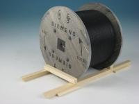 DUHA 15263 - Siemens Kabeltrommel aus gealtertem Holz (Spur I)