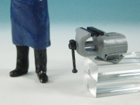 96013 B - Bausatz für Paralellschraubstock mit Drehplatte