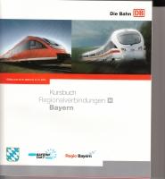 DB Kursbuch Regionalverbindungen H - Bayern
