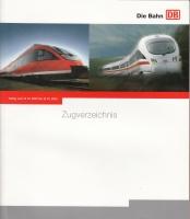 DB Zugverzeichnis 2003