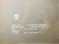 DUHA 11532 - Metallplatten gestapelt 148 x 32 mm (Spur H0)