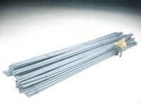 11413 D - Rundeisen metallic-blau, gebündelt, 190 mm lang